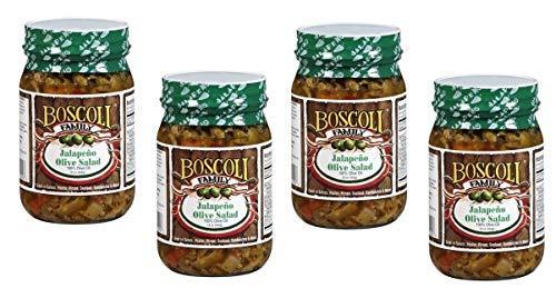 Boscoli Family Italian Miami Mall Jalapeno Olive Giardiniera Hot 15 Salad Max 75% OFF -