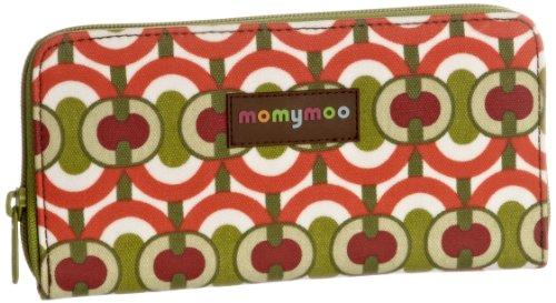 Momymoo Damen Lulu Wa 4b Portemonnaie, Swirl Green