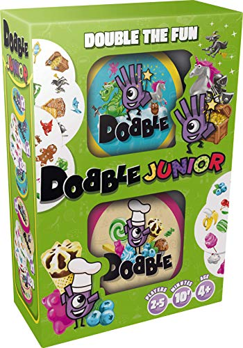 Zygomatic Dobble Junior - Gioco di carte (versione inglese)