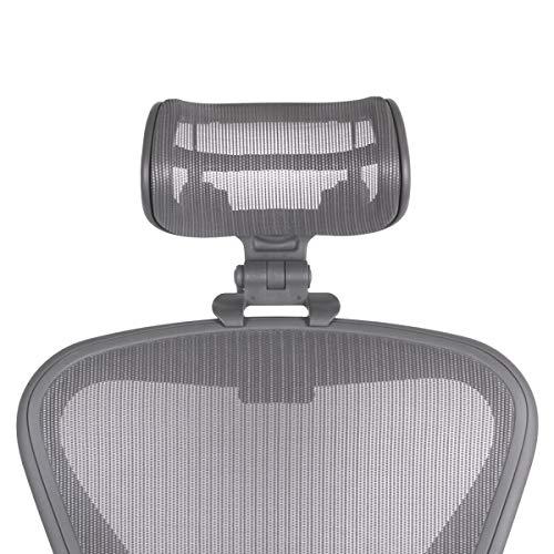 Die Original-Kopfstütze für den Herman Miller Aeron Chair H3 Carbon | Farben und Mesh Match Remastered Aeron Chair 2017 und neuere Modelle | Nur Kopfstütze – Stuhl nicht im Lieferumfang enthalten