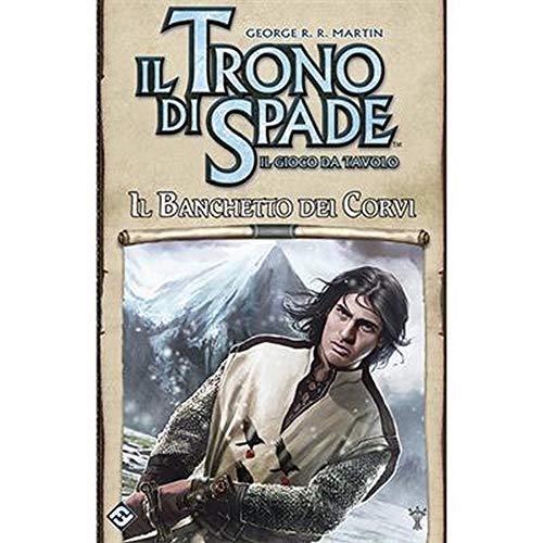 Asmodee - Il Trono di Spade, Il Gioco da Tavolo: Il Banchetto dei Corvi, Espansione Gioco da Tavolo, Edizione in Italiano, 9078