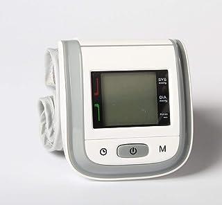 MBEN Sphygmomanometer de la muñeca, Pun ¢ o Grande, exhibición de la Pantalla Grande Completamente el almacenaje automático de la Memoria 99, Usuario 2, reproducción de Voz, batería casera accionada
