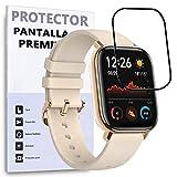 Protector de Pantalla Curvo para XIAOMI AMAZFIT GTS, Negro, Reloj SmartWatch, 3D / 4D / 5D