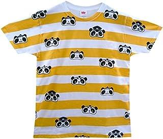 べぃびーにこぱんだ Tシャツ (WL, AP-018 Orange Border)