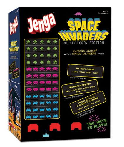Jenga Space Invaders Collectors Edition Game