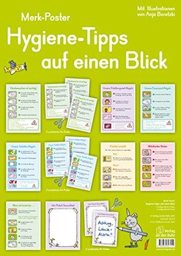 Merk-Poster: Hygiene-Tipps auf einen Blick