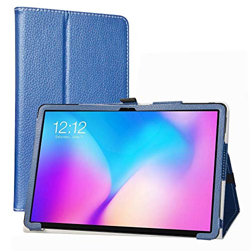Labanema Funda para TECLAST T30, Slim Fit Carcasa de Cuero Sintético con Función de Soporte Folio Case para 10.1' TECLAST T30 Tablet PC - Azul