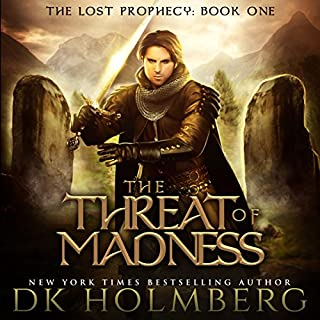 The Threat of Madness audiobook cover art