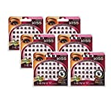 Kiss i-ENVY Ultra Black Trio Medium Lashes KPEC02UB (6 PACK)