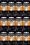 12-Pack Duracell 2025 Batteries 3.0 Volt Lithium Coin Button
