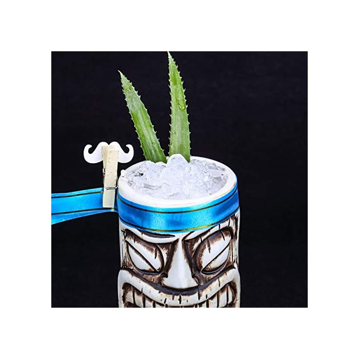 Cocktail Hawaiian Tiki Mug Ceramic Wine Beer Cup Cocktail Glass Creative Bar Partyfunny Coffee Mug For Homeofficegift 19 Zombie Totem