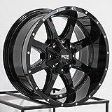 Moto Metal MO970 17x9 6x135/6x5.5' -12mm Gloss Black Wheel Rim 17' Inch