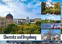 Chemnitz und Umgebung (Tischkalender 2022 DIN A5 quer): Eine facettenreiche Region im Fokus (Monatskalender, 14 Seiten )