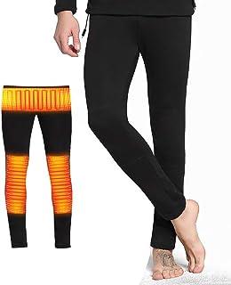 Confezione da 2 pantaloni termici da uomo in microfibra TSLA