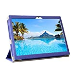 Zshion Tablet Case for Teclast M30,PU Leather Fold Stand Flip Case Cover for Teclast M30 (Blue)