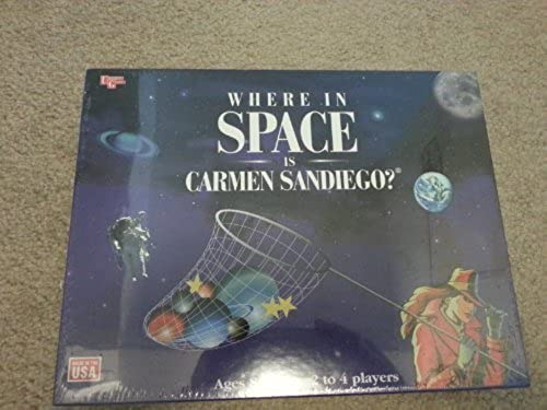 Where in Spaße Is Carmen Sandiego ame by University Games