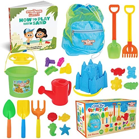 THE STORYBOOK KIDS EXPLORERS CLUB Beach Toys...
