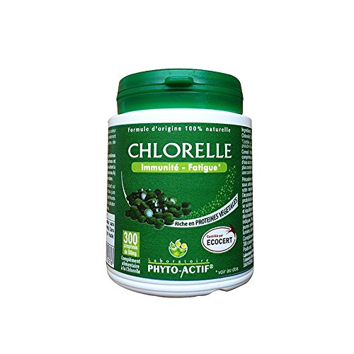 PHYTO ACTIF - Chlorelle 300 Comprime Ecocert