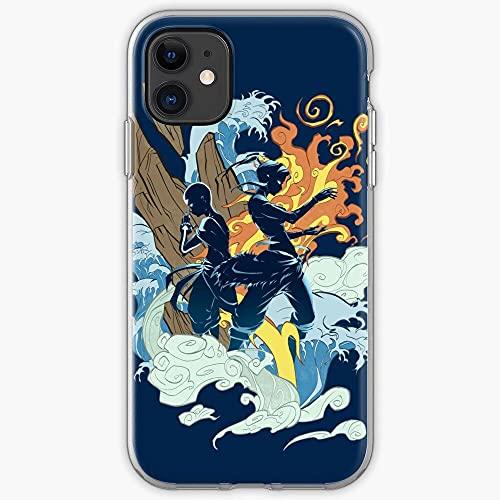 DIAOD Funda iPhone X/Funda iPhone XS Ultra-Thin Soft Frosted Semi-Transparent Phone Case Avatar P_059