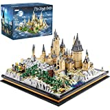 Big Magic Castle Set Collectible Huge Architecture Model Blocks Kit in Magical Adventure World Giant Building Set Playset for Adults (6862 Pieces) - Compatible with Lego