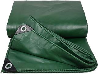 SSYBDUAN Lona, Impermeable, Impermeable, Lona Verde, anticongelante, Grosor 0.4mm, tamaño múltiple Opcional, (1.9x2.9m) (Color : Green, Tamaño : 1.4x1.9m)