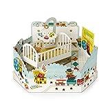 Hallmark Carte pop-up pour bébé « Boys Nursery » – Taille moyenne