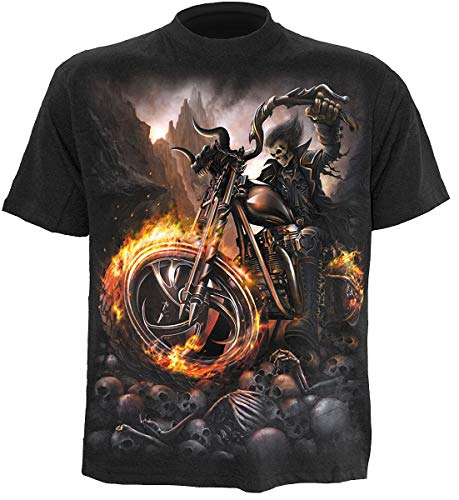 Spiral - Wheels of FIRE - T-Shirt - Schwarz - M