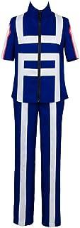 Disfraz de My Hero Academia Uniforme de Izuku Midoriya bakugou Katsuki Traje de Entrenamiento Academia para Hombre