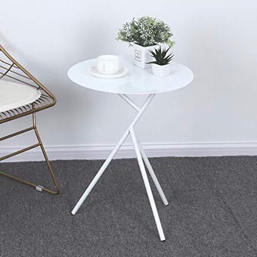 LYN Bijzettafel, smeedijzer, kleine ronde tafeltjes, Nordic eenvoudige kamer, woonkamer, balkon, sofa, tafel, leestafel, 45 x 56,5 cm