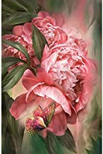 Paintings 5D Diamond Painting Flowers Peony Romantic Diamond Embroidery Diamond Stitch 5D DIY Mosaic Home Decoration Mural...