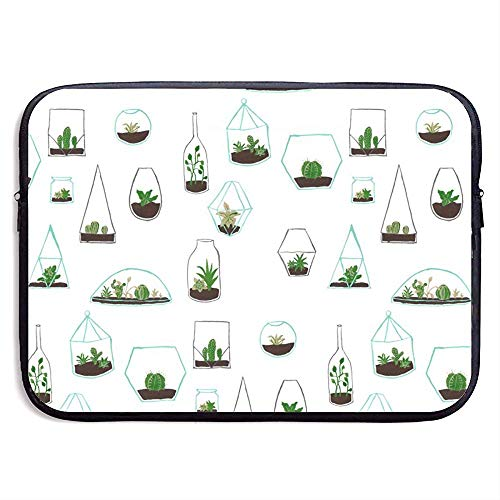 Funda para computadora portátil Cactus: Elegante Bolso de Neopreno para portátil, 33 cm * 25.5 cm * 3.5 cm