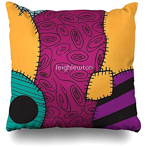 LisaArticles Pillow Cover,Fundas De Cojín De Pesadilla Antes De Navidad Sally Pattern