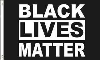 AZ FLAG Black Lives Matter Flag 3' x 5' - Stop The Violence Flags 90 x 150 cm - Banner 3x5 ft
