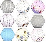 Spannbettlaken für 6-eck Laufgitter Matratze 120x105 cm Baby Kinder Laufstall Baumwolle D1
