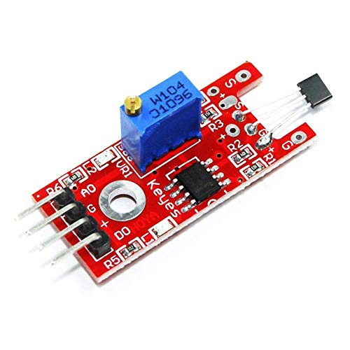UIOTEC KY-024 Hall Magnetic Standard Linear Module for Arduino Linear Magnetic Hall Effect Sensor*