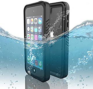 iPod Touch 7 Touch 6 Touch 5 Waterproof Case, Dooge IP68 Certified Shockproof/Dirtproof/Snowproof Full-Sealed Full-Body Heavy Duty Protective Case with Screen Protector for iPod Touch 5th/6th/7th