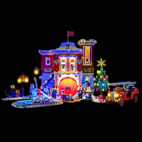 Lego Winter Village Fire Station #10263 Light Kit