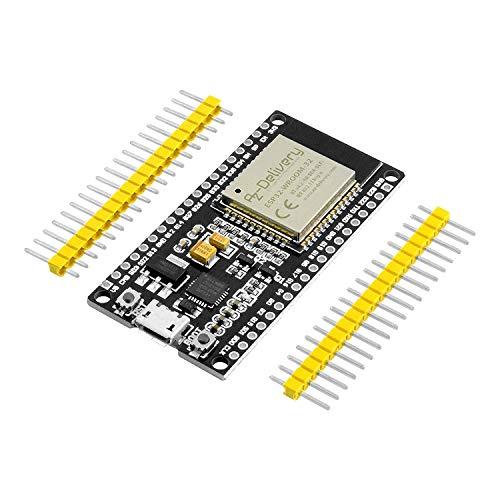 AZDelivery ESP32 NodeMCU Modulo Wifi + Bluetooth Dev Kit C Placa de Desarrollo con Chip CP2102 con E-Book incluido! (version no soldada)