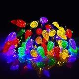 Ansody Luci natalizie a led 16ft 50Led Luci natalizie multicolori 8 Modalità di illuminazione Funziona a batteria Luci fata scintillanti impermeabili per feste Tetto Giardino domestico Patio…