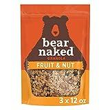 Bear Naked Fruit & Nut Granola -Vegetarian Breakfast Cereal - 12oz Bag (3 Pack)