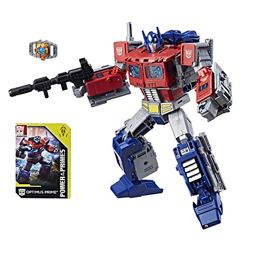 Transformers : Generations – Power of The Primes – Leader Class – Optimus Prime – Figurine Transformable 22.5 cm