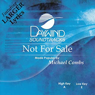 Not For Sale Accompaniment/Performance Track