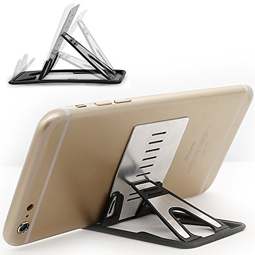 iPhone Kickstand, iPad Kickstand, iMangoo Multi-Angle Holder Tablet Dock Adjustable Foldable Cradle Portable Mini Desk Stand Fold-up Smartphone Stands Holders for Apple iPhone, iPad, Samsung, OnePlus