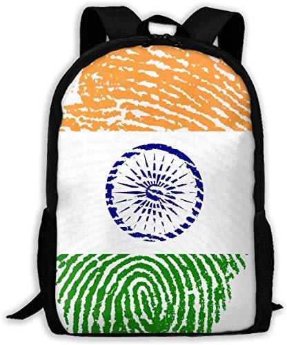 gxianyuyib Reiserucksack Laptop Rucksack Große Wickeltasche Indien Rucksack Schulrucksack für Frauen & Männer