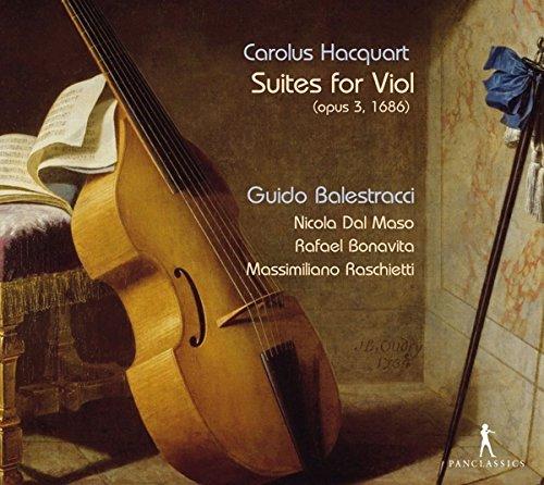 Balestracci/ Dal Maso/ Bonavita/ Raschietti Suites for Viol (op.3,1686) Other