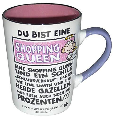 Depesche Weltbester Becher Shopping Queen