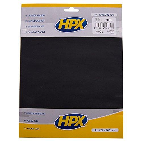 HPX 235939 Schleifpapier Körnung 2000, Anzahl 4