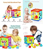 ★ LEARN AND PLAY: Activity Cube Toy comes with moveable clock hands and multi-color clock dial which helps child to learn how to read time. 6-in-1 Educational activity toy is a great birthday gift for 1 or 2 year old boys and girls. To enhance your b...