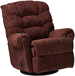 Lane Home Furnishings 4204-18 Reflex Merlot Swivel/Rocker Recliner