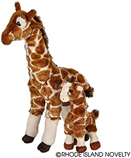 Adventure Planet Birth of Life Giraffe with Baby Plush Toy 14.5